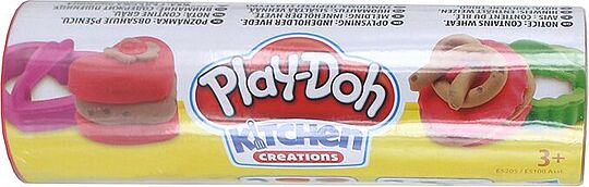 Set of modeling dough