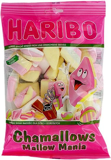 Պաստեղ «Haribo Chamallows Mallow Mania» 175գ