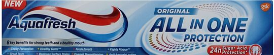 Ատամի մածուկ «Aquafresh All in One Protection Original» 100մլ