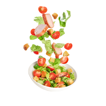 Salad and snack
