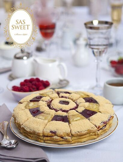 "Pie ""SAS Sweet Raspberry-apple"""