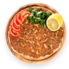 Lahmacun and bread with jengyal